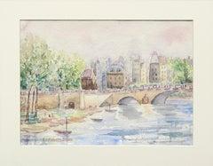 Bridge over the Canal - Landscape
