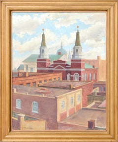 """""""Lancaster Roof Tops"""" Cityscape"""