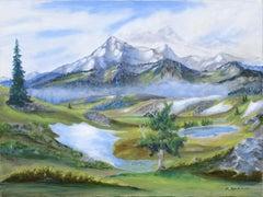 """""""Alpine Summer"""" Landscape"""