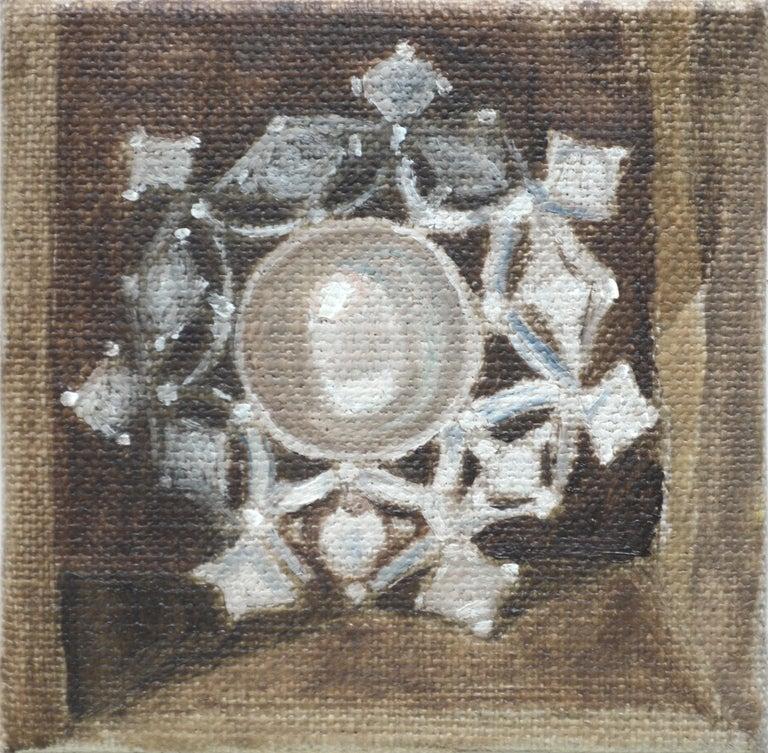 Susan Reinier Still-Life Painting - Grandmother's Brooch - Still Life