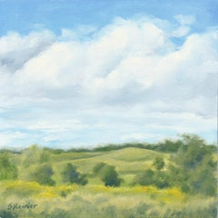 Clouds Over Rolling Hills - Landscape