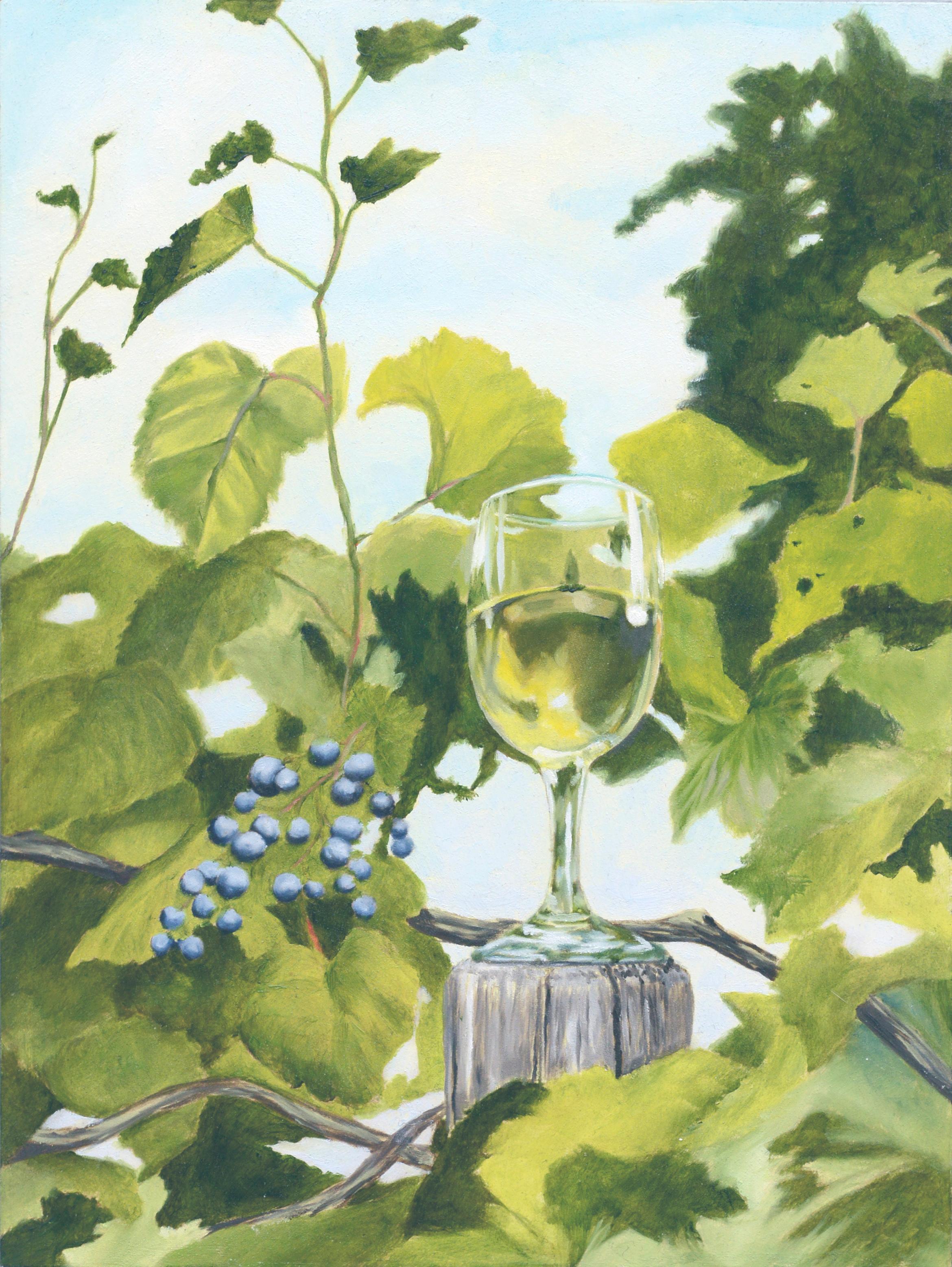 """""""Wine Vine"""" Still Life"""