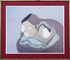 """Mother and Sleeping Child"" Alaska by Susan Pennewelle Ellis"