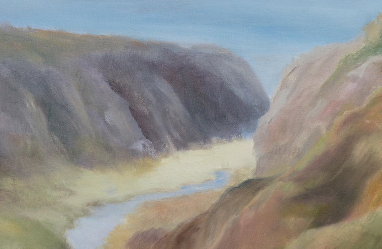 River Outlet in Big Sur by Kenneth Lucas Journey to Ocean For Sale 2