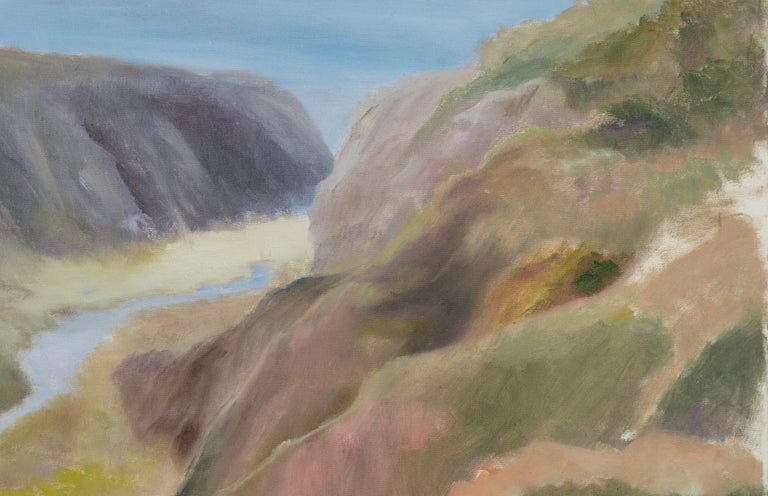 River Outlet in Big Sur by Kenneth Lucas Journey to Ocean For Sale 3