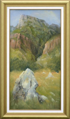 Rocky Outcropping Near the Mesa by Kenneth Lucas