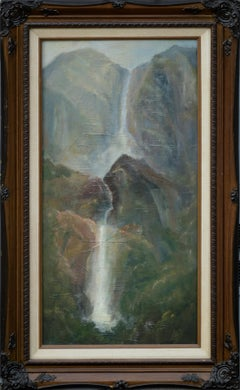 Waterfalls - Vertical Landscape
