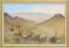Arizona Valley - Landscape by Kenneth Lucas