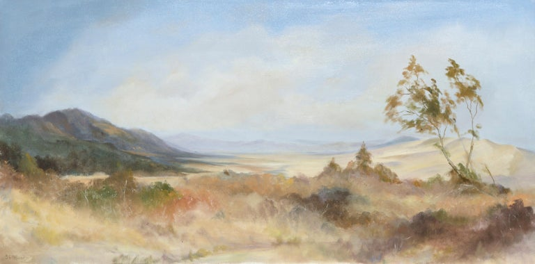 Peaceful Valley - Landscape by Kenneth Lucas For Sale 1