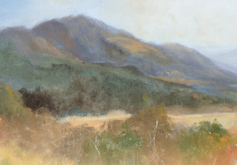 Peaceful Valley - Landscape by Kenneth Lucas For Sale 2