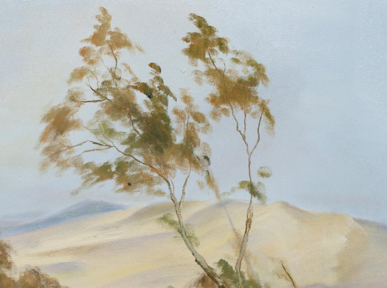 Peaceful Valley - Landscape by Kenneth Lucas For Sale 3