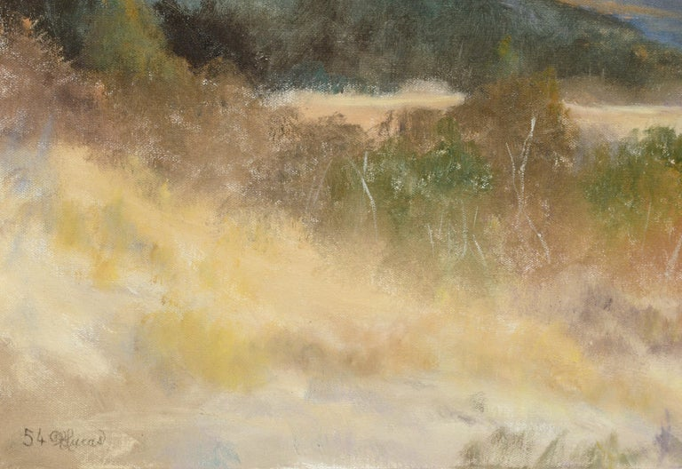 Peaceful Valley - Landscape by Kenneth Lucas For Sale 5