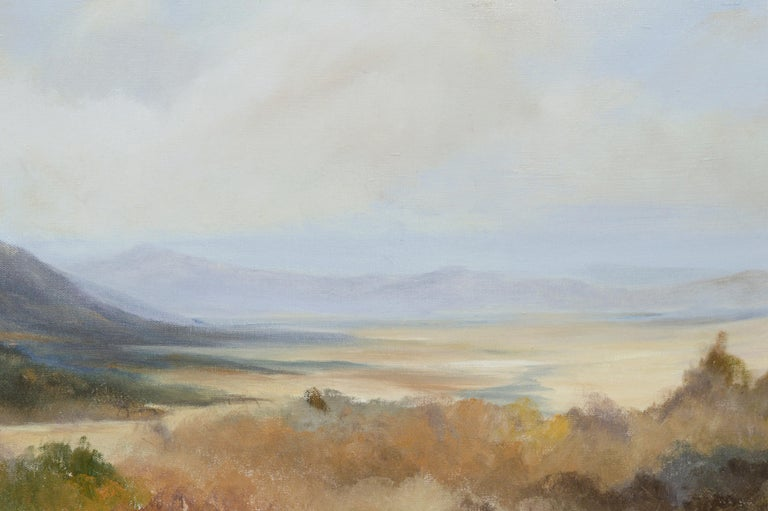 Peaceful Valley - Landscape by Kenneth Lucas For Sale 6