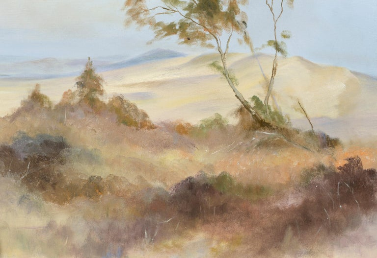 Peaceful Valley - Landscape by Kenneth Lucas For Sale 4