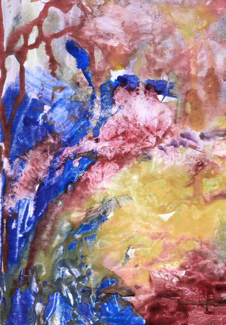 Primary Color Abstract - Art by Les Anderson
