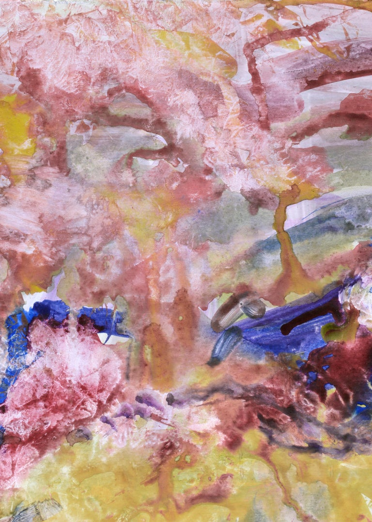 Primary Color Abstract - Abstract Expressionist Art by Les Anderson