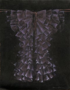 """Ruffled Robe"" (Purple Kimono)"