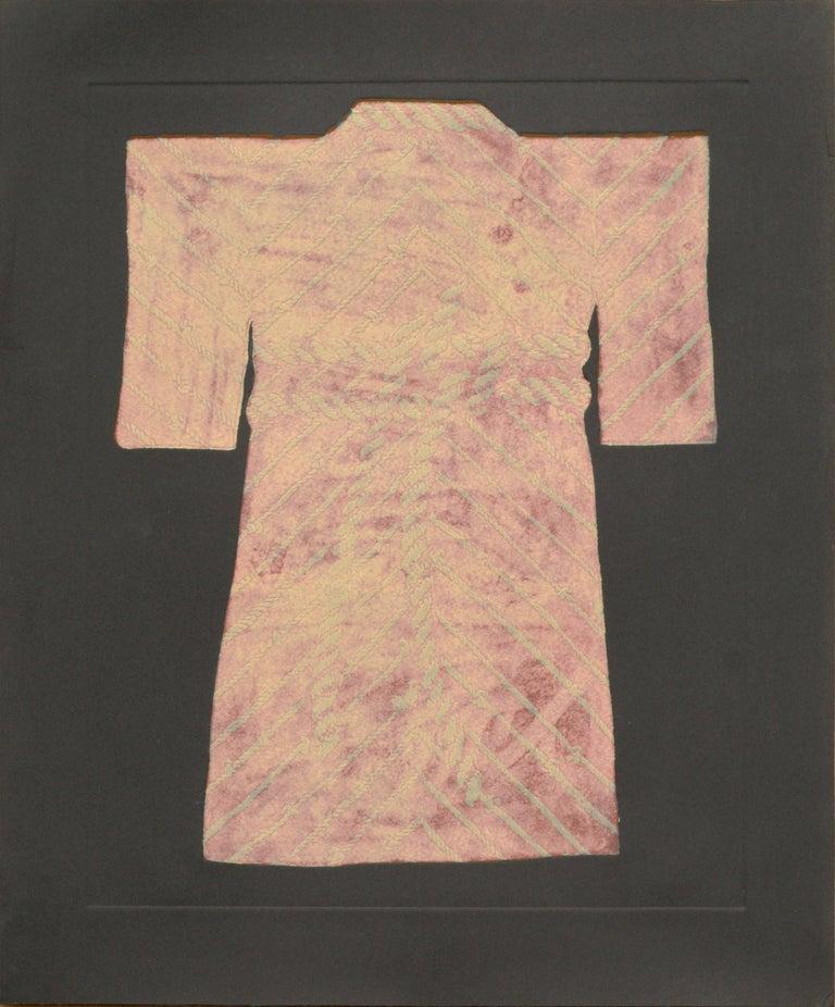 Patricia A Pearce Figurative Art - Pink Rope Kimono