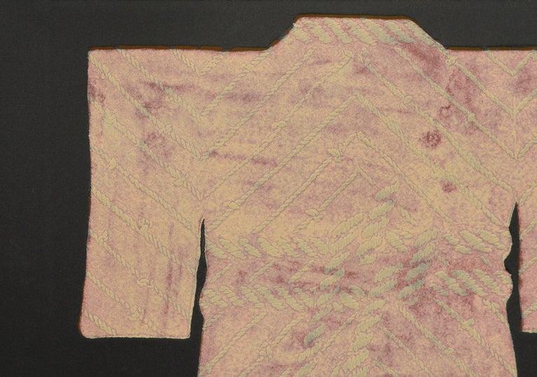 Pink Rope Kimono - Art by Patricia A Pearce