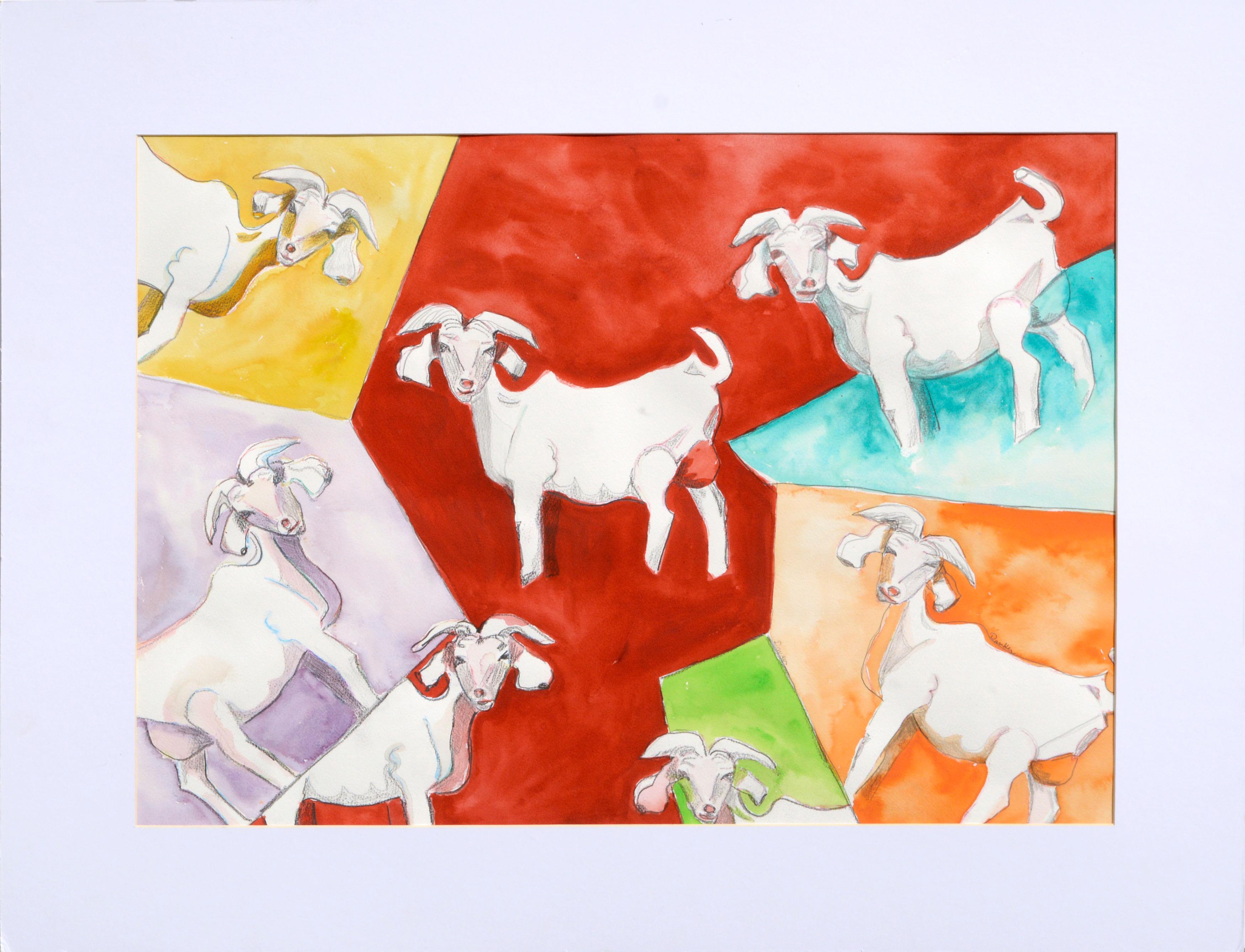 Multi Colored Goats