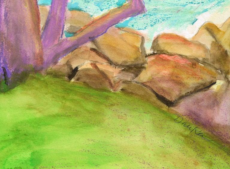 Purple Cypress - Vertical Landscape For Sale 2