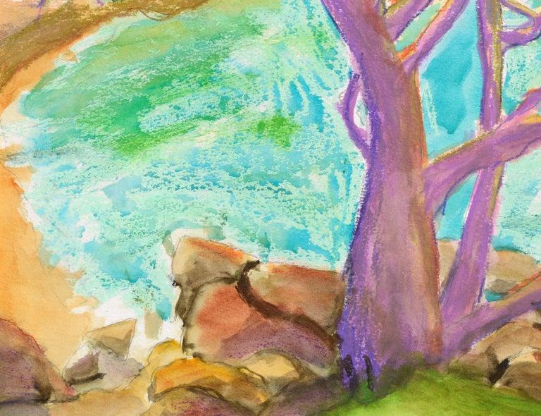 Purple Cypress - Vertical Landscape For Sale 1