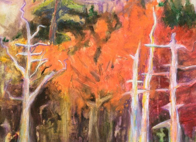 Fauvist Nevada Falls Yosemite Landscape For Sale 3