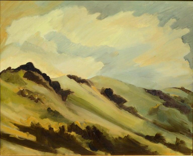 Marin Hills California Landscape by Noel Howard 1
