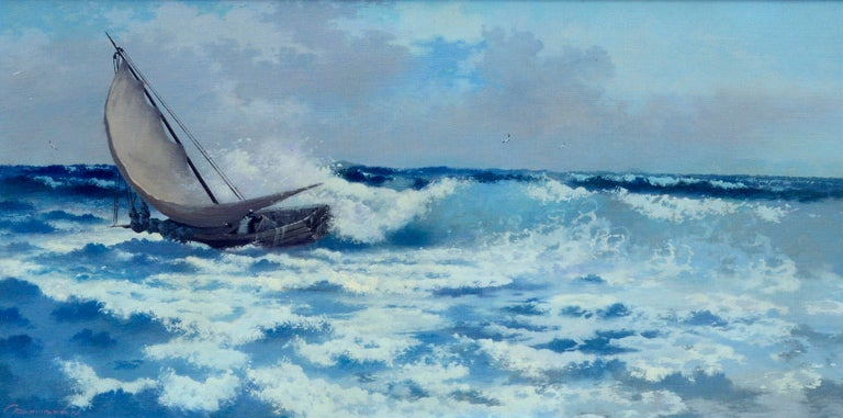 Crashing the Surf by Carl Davidson For Sale 1