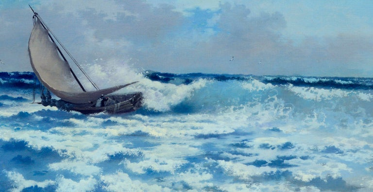 Crashing the Surf by Carl Davidson For Sale 2