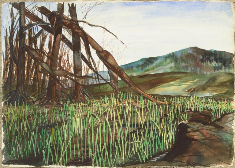 Mountain Grasslands - Art by Joseph Yeager