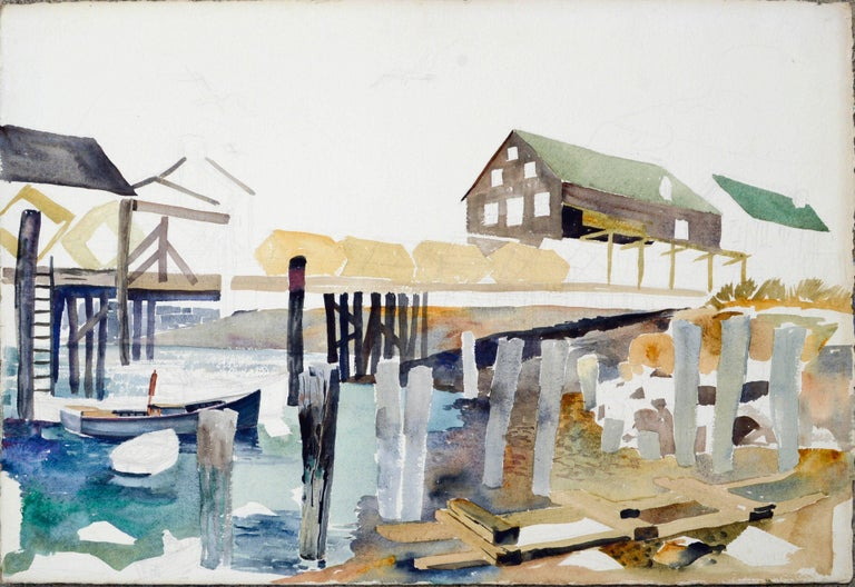 Wharf and Industrial by Joseph Yeager For Sale 1