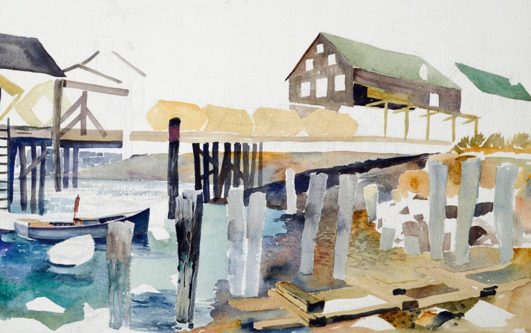 Wharf and Industrial by Joseph Yeager For Sale 2