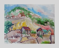 Impressionist Landscape Drawings and Watercolours