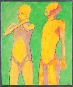 """You Need to Listen to Me"" Florescent Figurative"