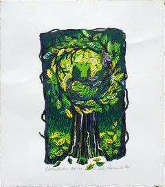 """Viriditas"" Multi Layer Silkscreen Print"