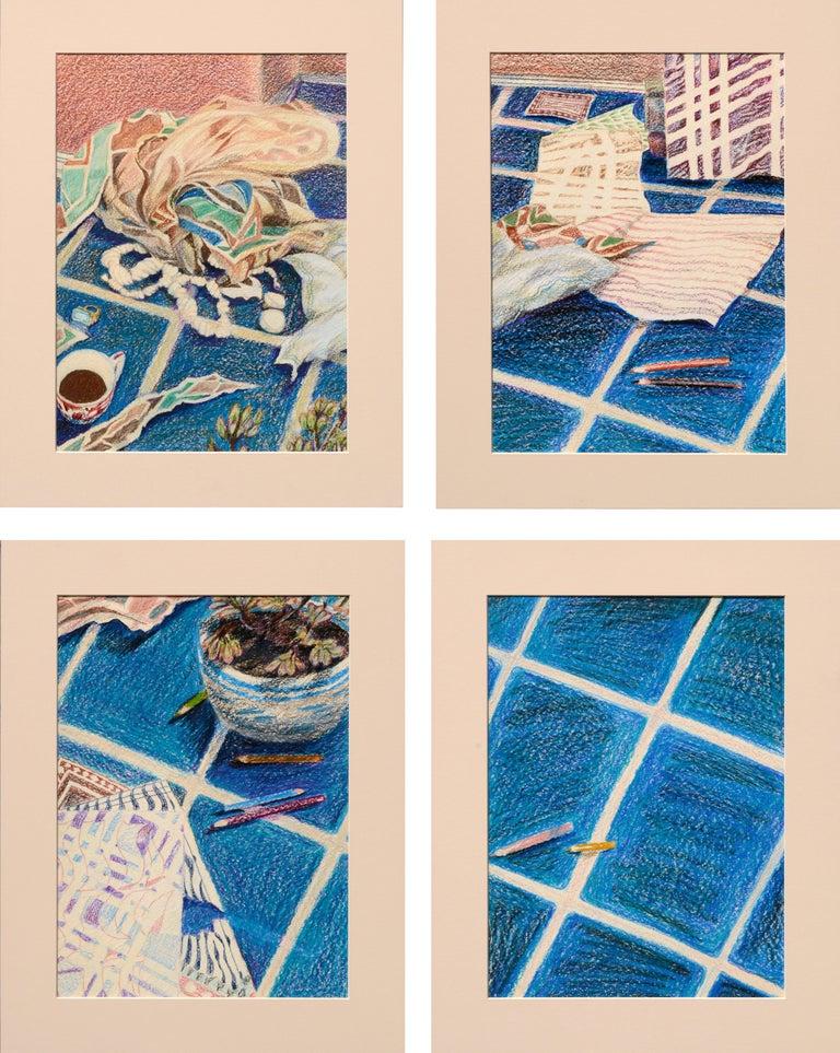 Noel Howard Interior Art - Four Panel Still Life