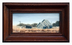 """Grey Barns"" Farm Landscape"