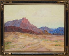 Early 20th Century Coachella Valley Landscape by Cyrus Currier