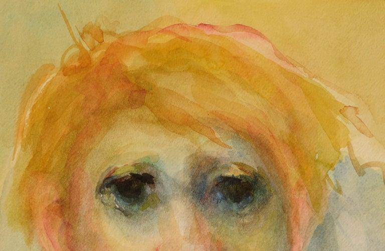 Clown Portrait #11 - Art by Marjorie May Blake