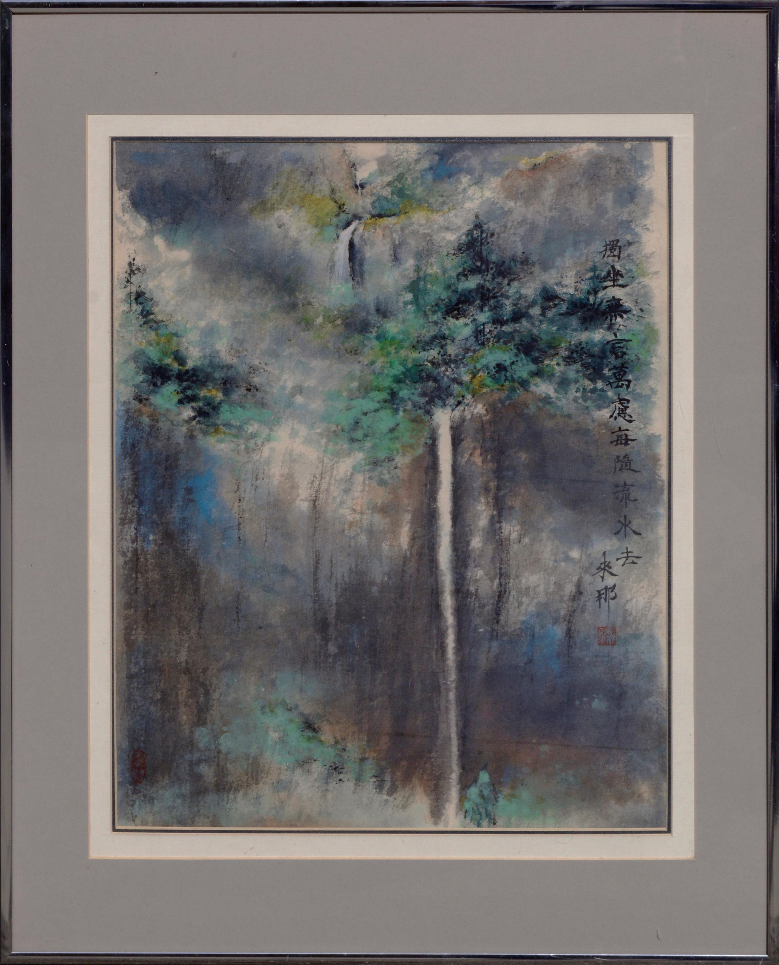 """Waterfall Landscape """"Gift of Love"""""""