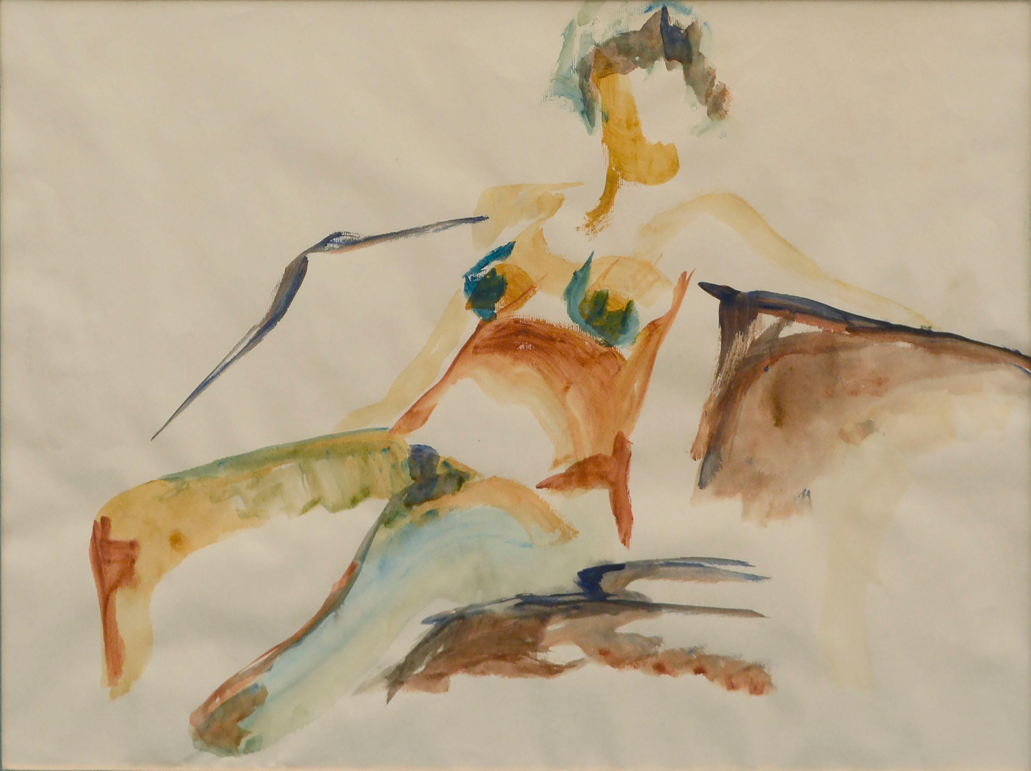 Seated Nude Figure
