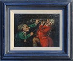 18th Century Satirical Caricateur -- The Sadistic Tooth-Drawer