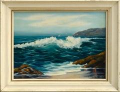 Incoming Tide Coastal Seascape