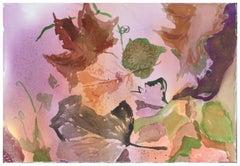 Grape Leaves #2, Botanical Study