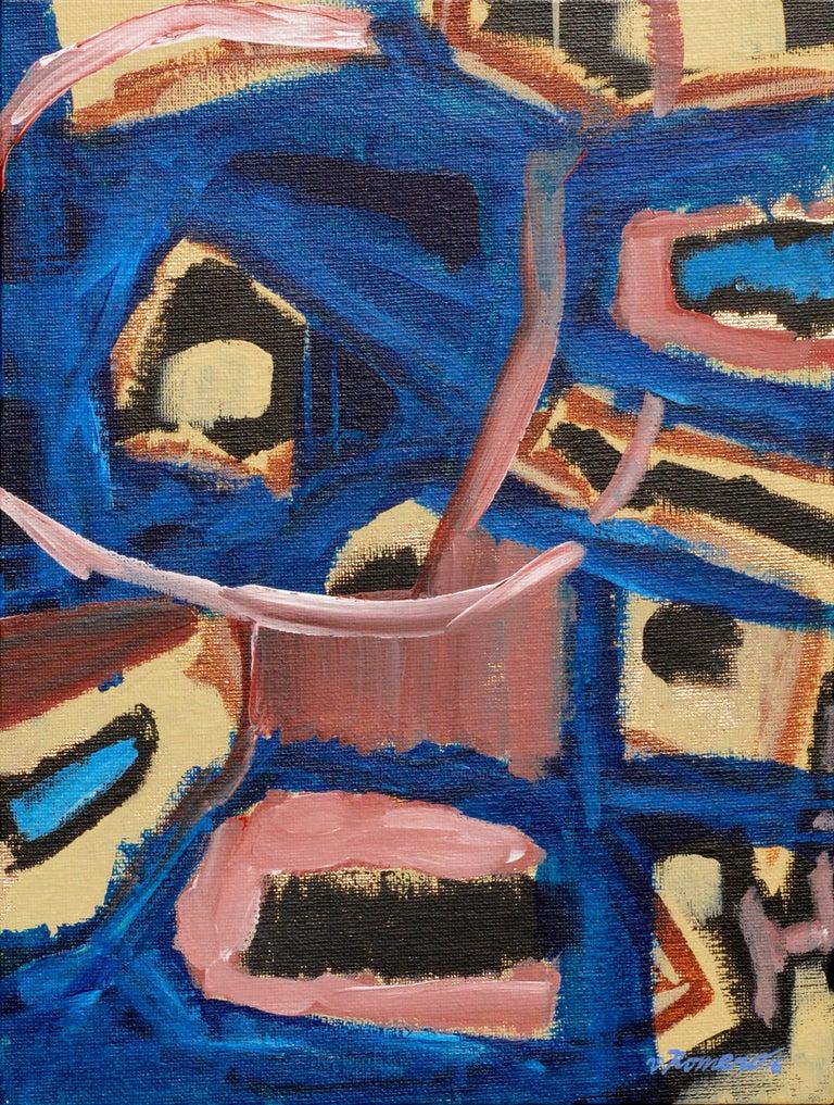 """Nacho Libre"" by Aromas Artist Frank Thomas Romero - Painting by Frank Thomas Romero"