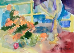 Colorful Watercolor Still-Life