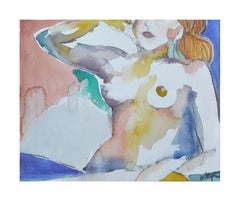 Modernist Reclining Nude