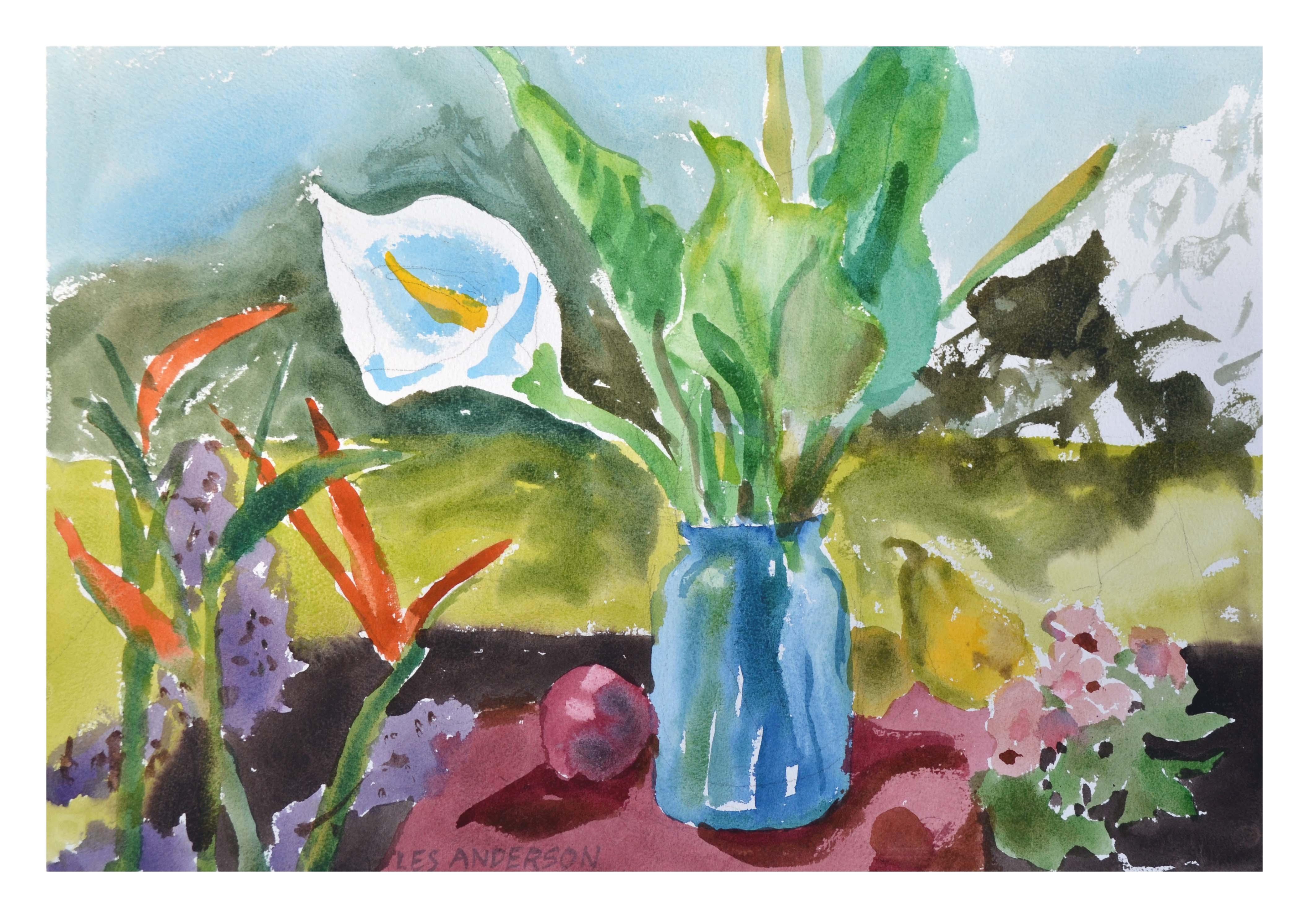 Calla Lily Floral Still-Life