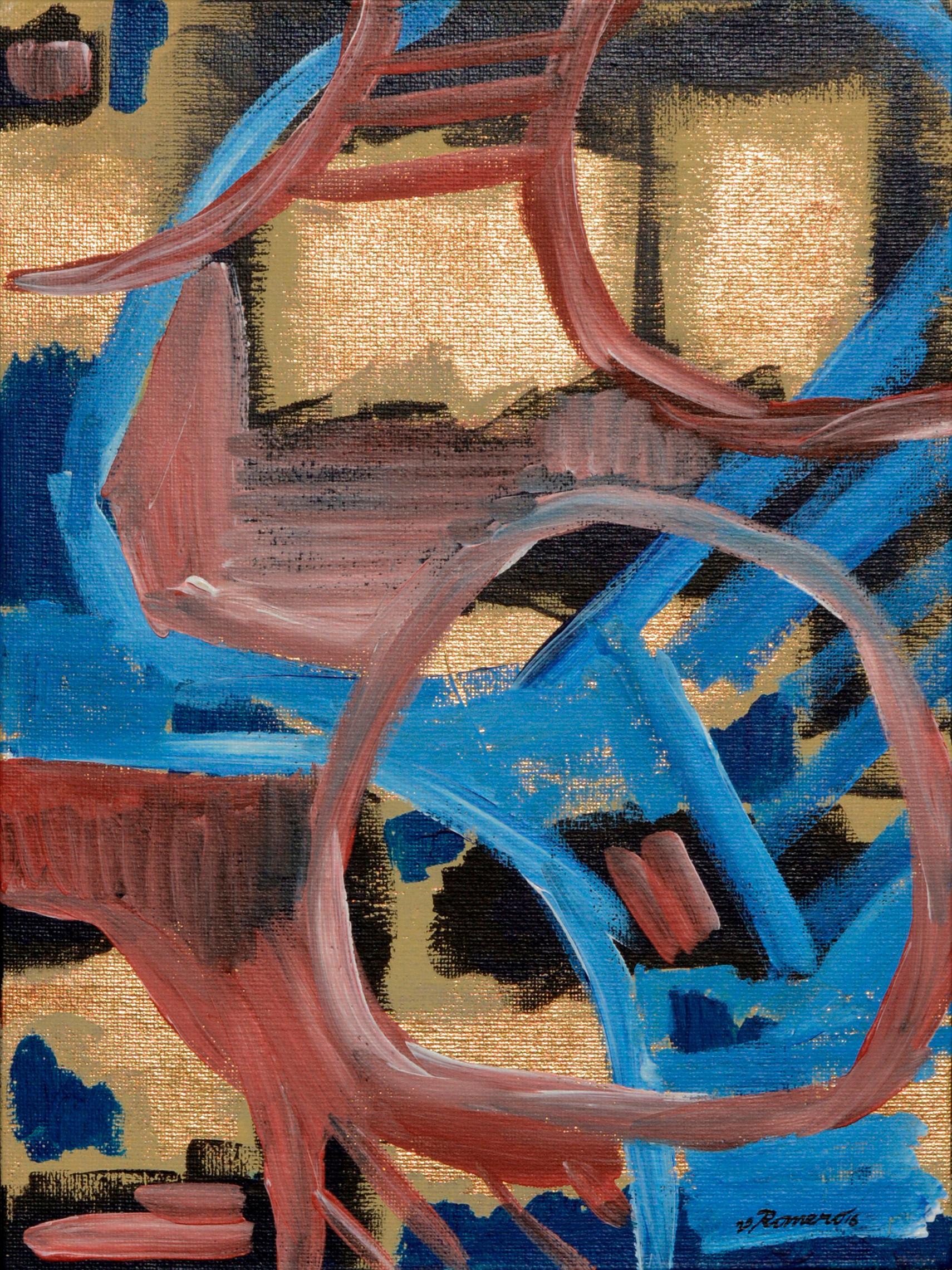"""Puzzled"" by Aromas Artist Frank Thomas Romero"